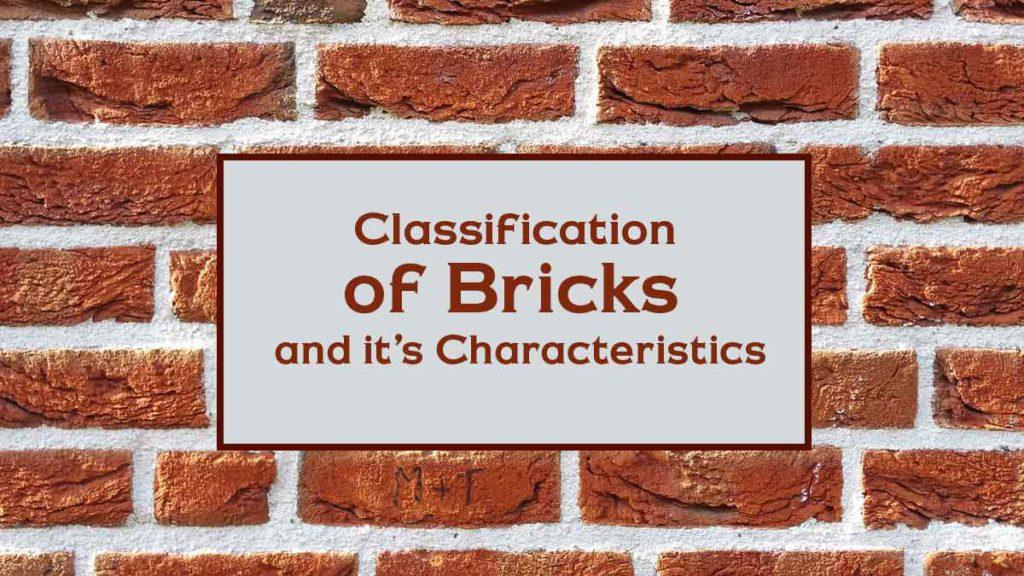 Brick classification