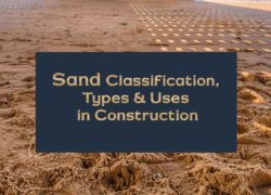 sand types and uses