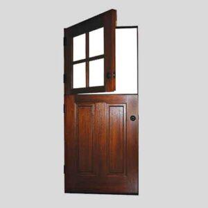 Wooden Dutch Door
