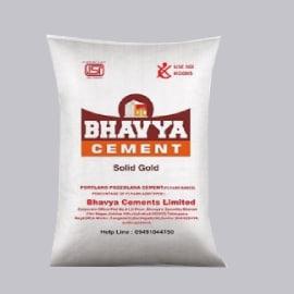 Bhavya cement price today