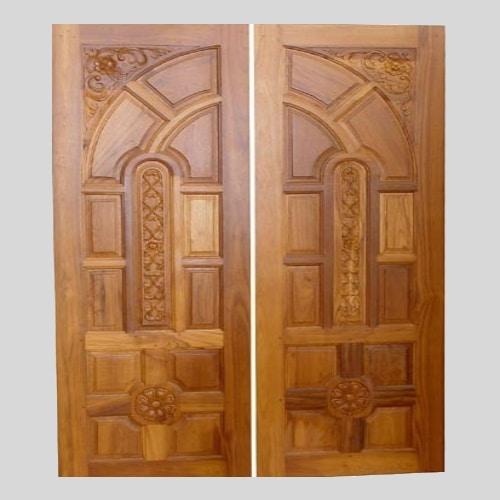 teak wood door designs