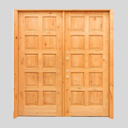 designer teak wood doors
