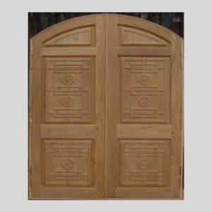 Teak Wood Front Door