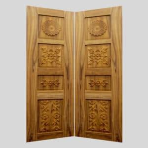 Teak Wood Design Door