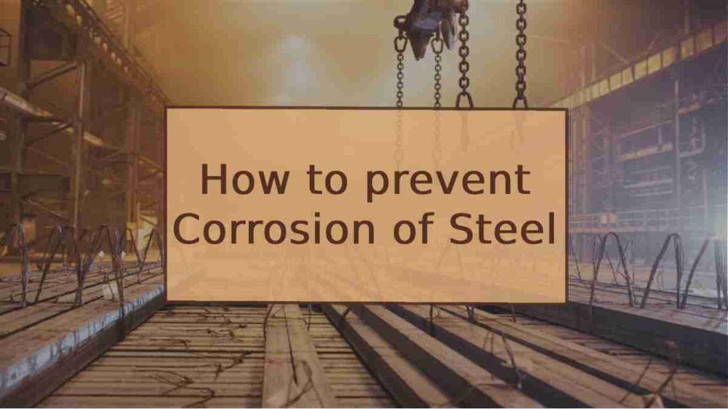 corrosion of steel