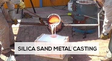 silica sand metal casting