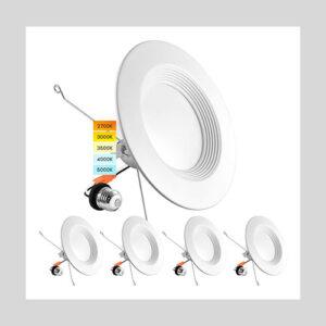 Luxrite 5/6 Inch LED Recessed Retrofit Downlight