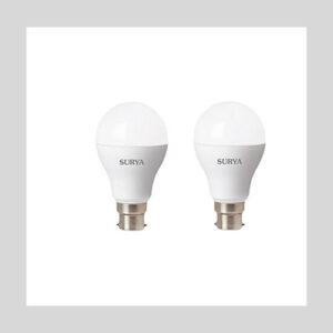 Surya Led Bulbs (Pack of 2, Cool Day Light)