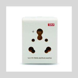 GM 3050 16 Amp 3 Pin Multi-Plug Adaptor