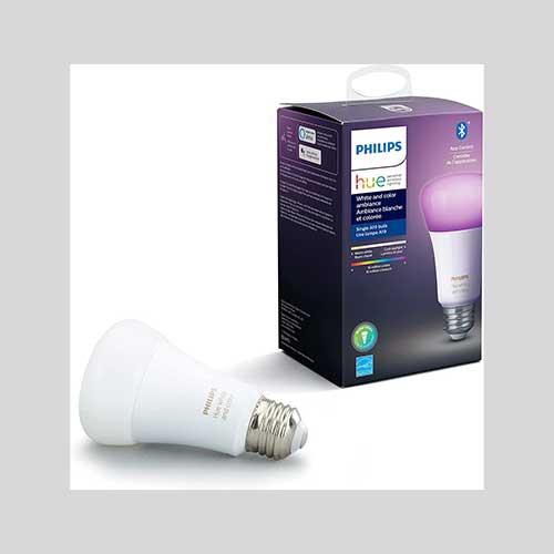 Philips white ambiance bulb