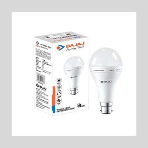 Bajaj 9W B22 LED White Inverter Lamp, (830328)