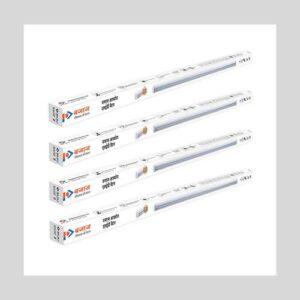 Bajaj 20-Watt Ivora LED Batten CDL (White) (Pack of 4)