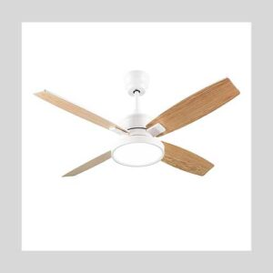 SNJ 52-Inch Ceiling Fan with Lights and Remote Control